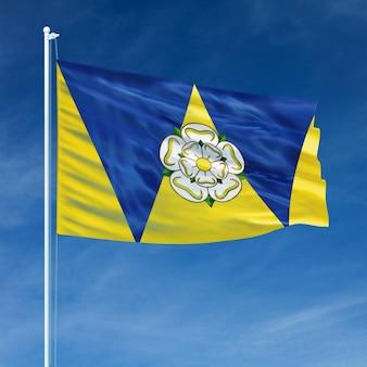 Volare della bandiera del west yorkshire