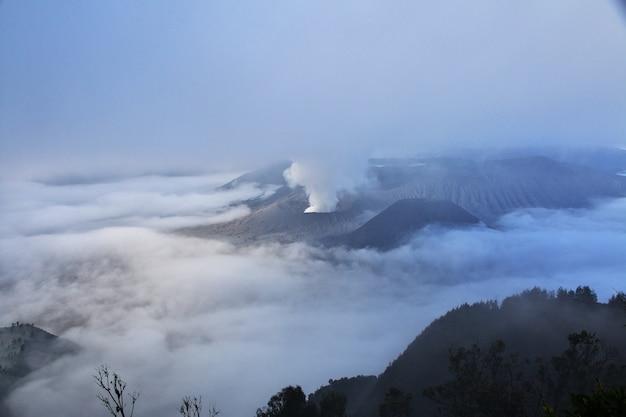 Volcano bromo nell'isola di java, indonesia