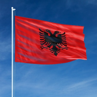 Volo bandiera albania