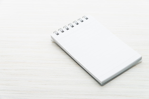 Vuoto mock up notebook