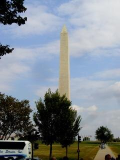 Washington dc monumenti famosi, tallbuildings, obelisco