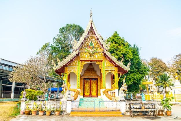 Wat luang a pai in mae hong son, tailandia