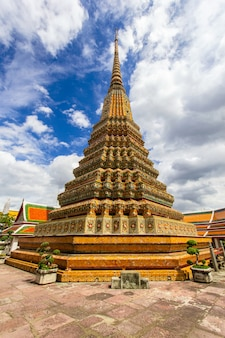 Wat pho temple o wat phra chetuphon