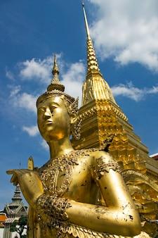Wat phra kaeo, tempio di emerald buddha, tailandia