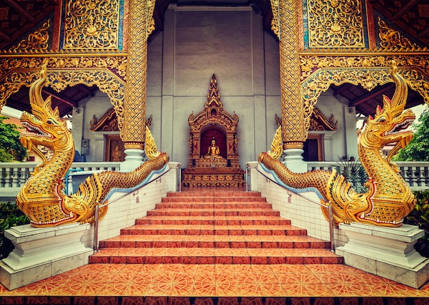 Wat phra singh, chiang mai, tailandia