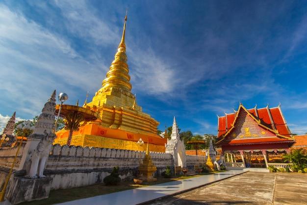Wat pra that chae haeng, provincia di nan, tailandia