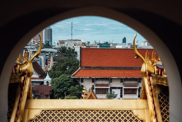 Wat ratchanatdaram e loha prasat (castello di ferro)