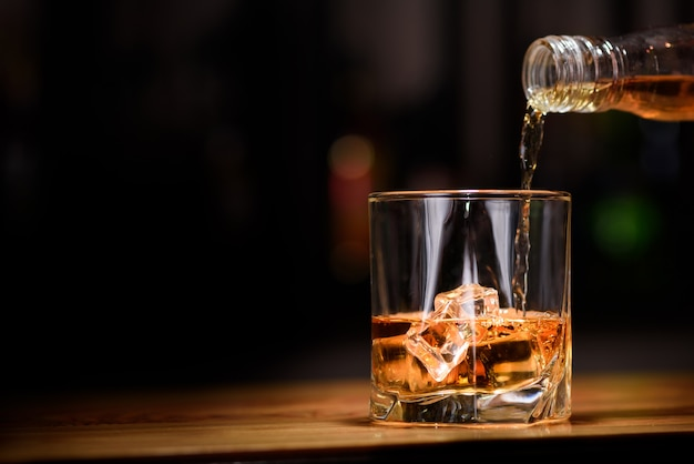 Whisky nel bicchiere