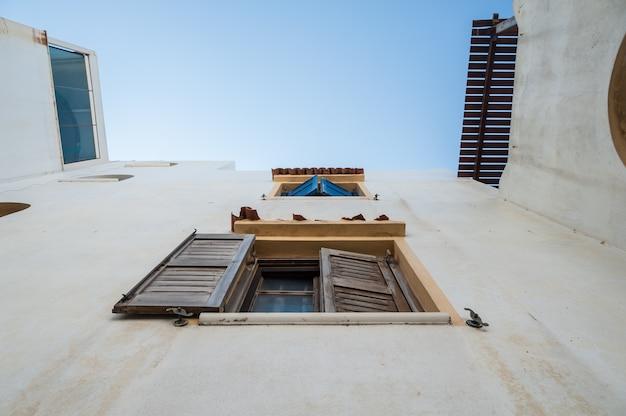 Windows di una casa a naxos