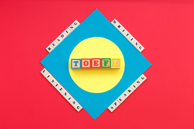 Word toefl e parole leggere, ascoltare, scrivere, parlare toefl