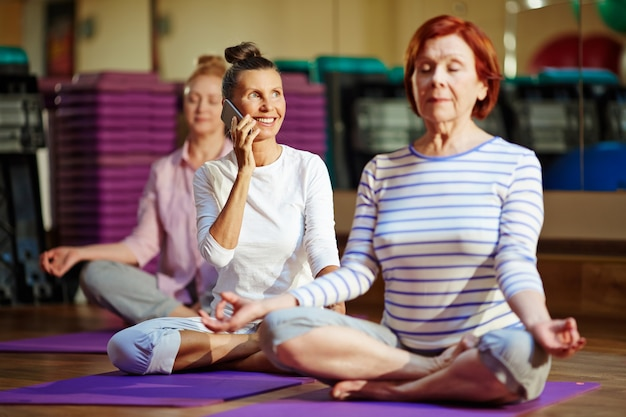 Yoga mobile