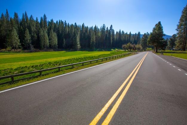 Yosemite wawona road route 41 in california