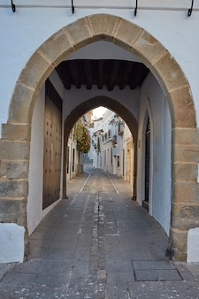 Zafra arco de jerez puerta arch extremadura