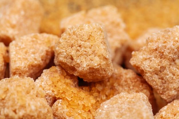 Zollette di zucchero di canna marrone