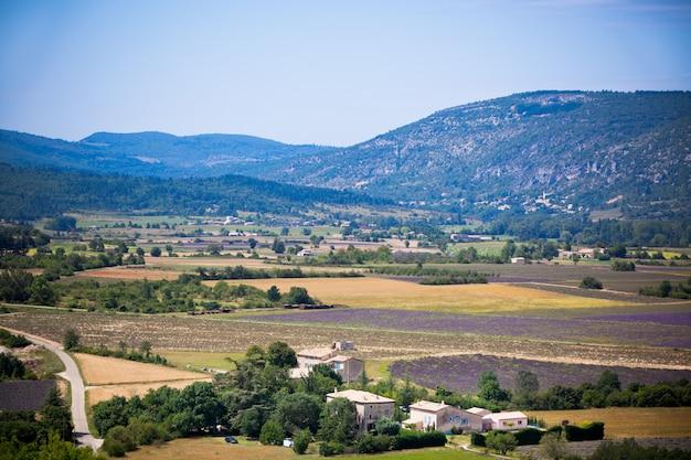 Zona rurale in montagna