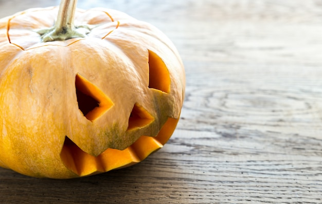 Zucca spaventosa di halloween