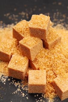 Zucchero di roccia da vicino