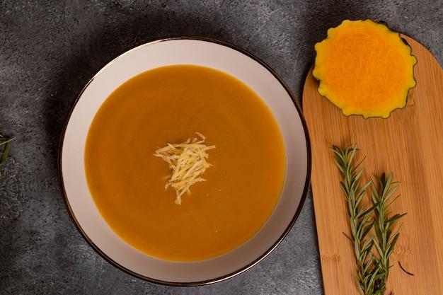 Zuppa di zucca, tipica del perù, chiamata anche come: zapallo loche o lambayeque.