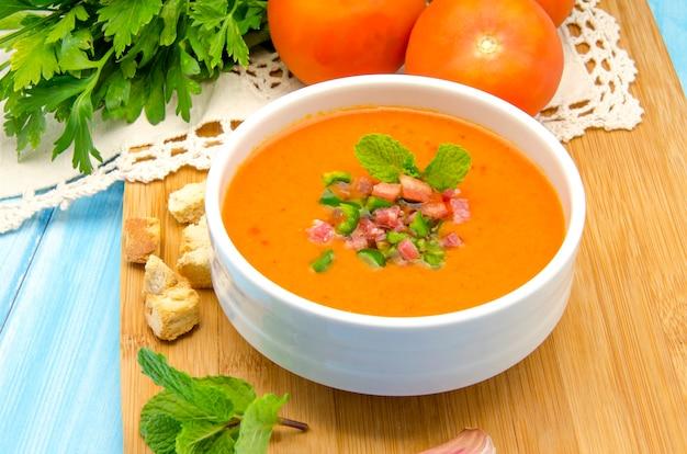 Zuppa fredda di gazpacho