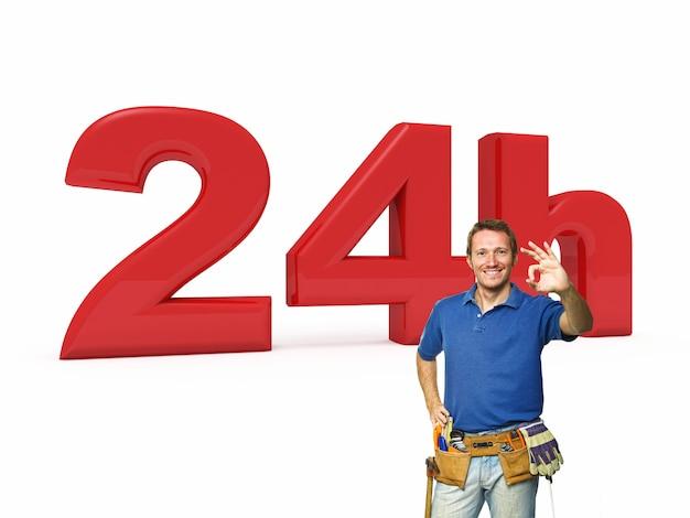 24 horas de serviço handyman