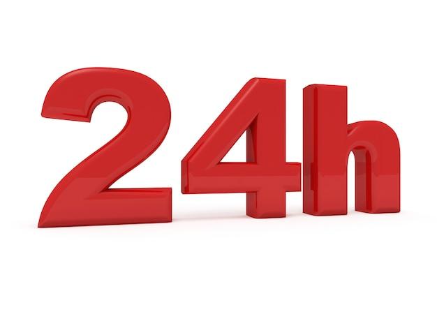 24 horas de serviço