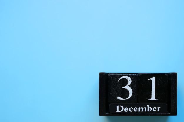 31 de dezembro, calendário