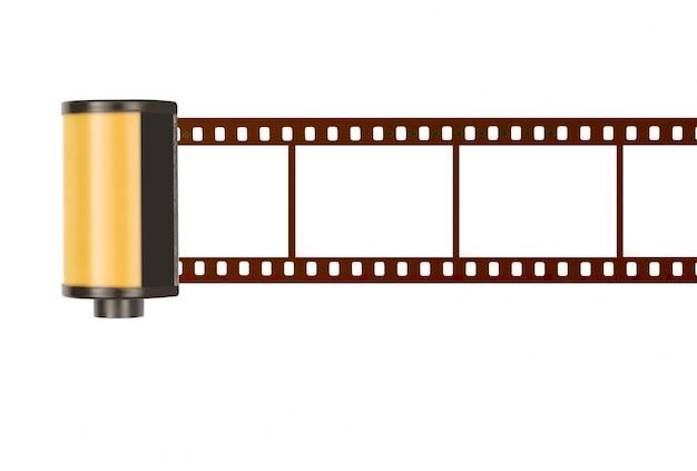 35 milímetros caixinha de filme