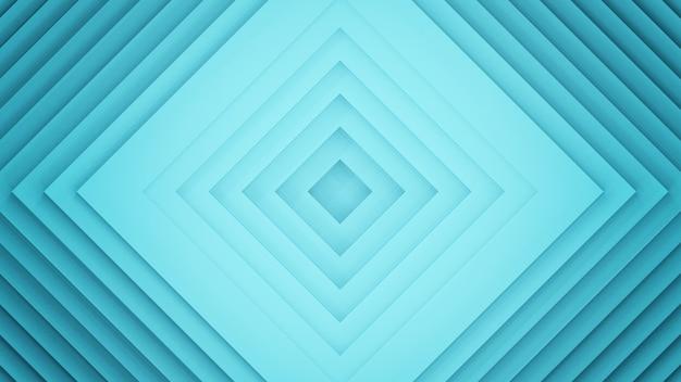 3d abstrato que rende o fundo quadrado.