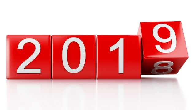 3d ano novo de 2019
