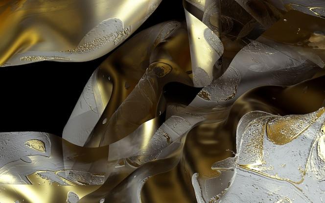3d arte abstrata cortinas ou cobertor
