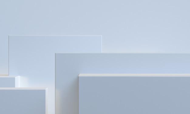 3d design de estilo minimalista de cor rosa, simulação de apresentação do pódio da cena, 3d rendem o fundo abstrato.