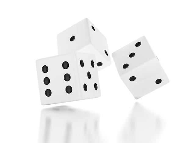 3d jogar dadinhos