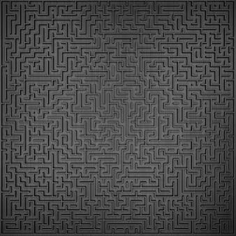 3d maze design principal elemento de design wiev