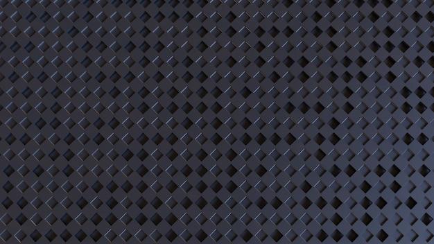 3d rendendo formas abstratas fundo
