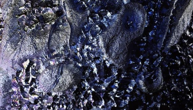 3d render da arte abstrata textura de fundo 3d com parte da superfície áspera do asteróide do planeta grunge