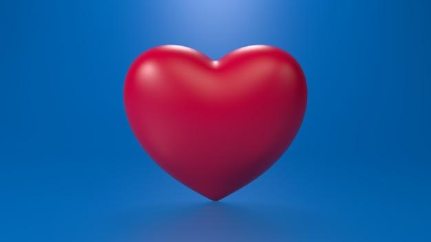 3d render de hart