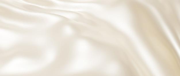 3d render de pano leve e branco. folha holográfica iridescente. abstrato arte moda base.