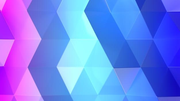3d render gradiente de fundo geométrico