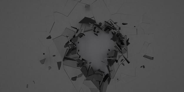 3d shatter abstract wallpaper fundo