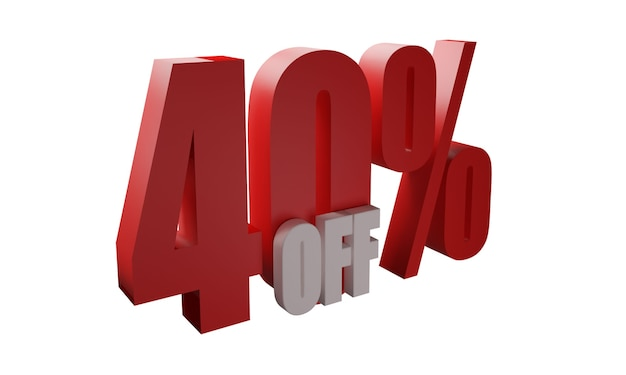 40% de desconto em imagens
