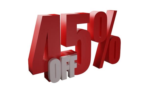 45% de desconto em imagens