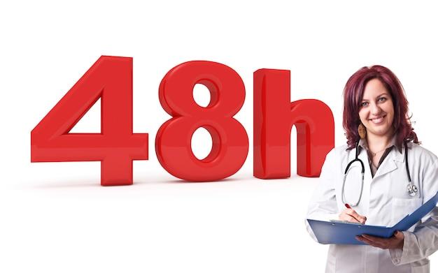 48 horas de médico