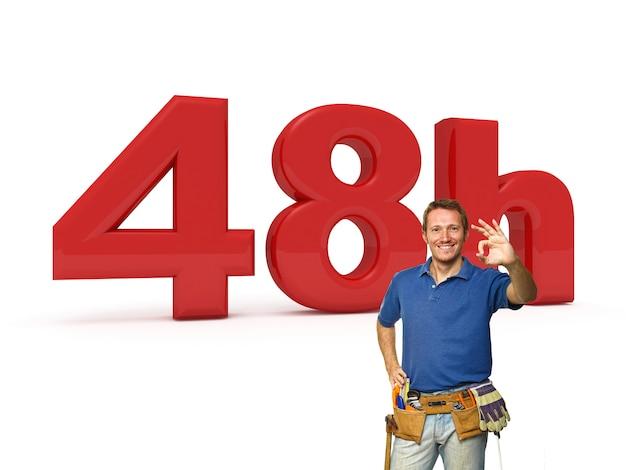 48 horas de serviço handyman