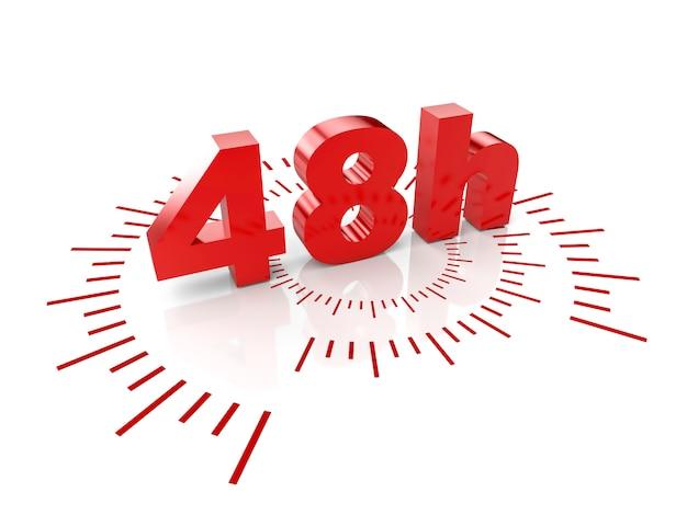 48 horas de serviço