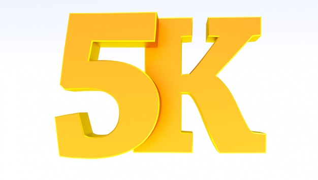 5k ou 5000 seguidores, obrigado.