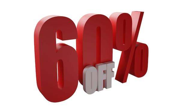 60 por cento fora de imagens