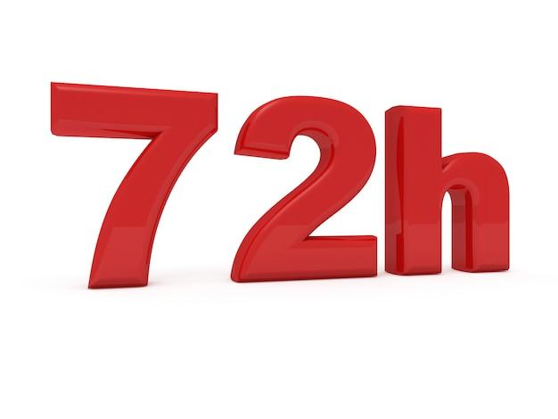 72 horas de serviço