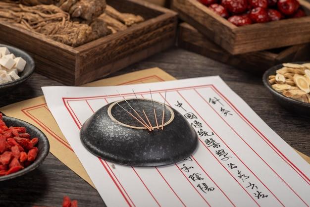 A acupuntura é um medicamento tradicional chinês