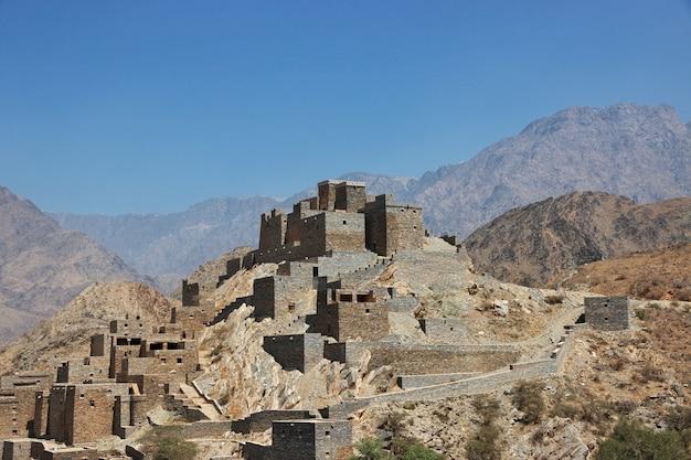 A aldeia histórica al ain, arábia saudita