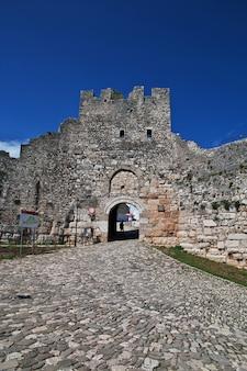 A antiga cidade de berat na albânia